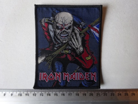 IRON MAIDEN - THE TROOPER BLACK BORDER (DARKER VERSION )
