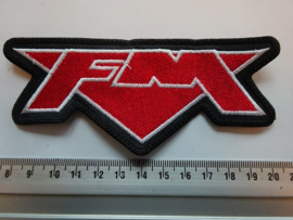 FM - RED/WHITE NAME LOGO