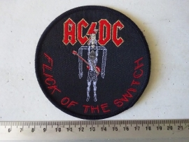 AC/DC - FLICK OF THE SWITCH ( WOVEN ) ORIGINAL