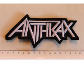 ANTHRAX - WHITE NAME LOGO