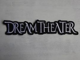 DREAM THEATER - WHITE LOGO