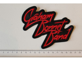 GRAHAM BONNET BAND - RED NAME LOGO
