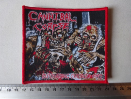 CANNIBAL CORPSE - BUTCHERING CHICAGO 1992 RED BORDER