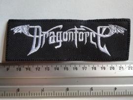 DRAGONFORCE - WHITE NAME LOGO