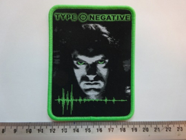 TYPE O NEGATIVE - LIFE IS KILLING ME ( GREEN BORDER ) WOVEN