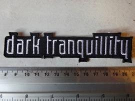 DARK TRANQUILITY - WHITE LOGO