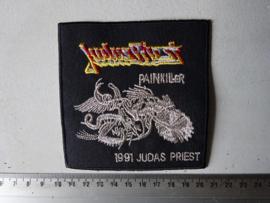 JUDAS PRIEST - PAINKILLER 1991 SILVER LOGO