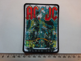 AC/DC - BLACK ICE ( BLACK BORDER ) WOVEN