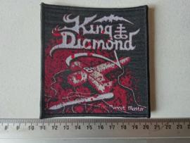 KING DIAMOND - PUPPET MASTER BLACK  BORDER