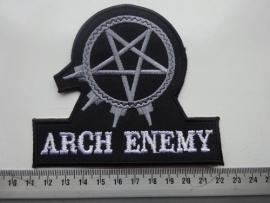 ARCH ENEMY -GREY LOGO