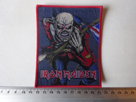 IRON MAIDEN - THE TROOPER RED BORDER