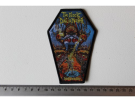 THE BLACK DAHLIA MURDER - DEFLORATE ( BLACK BORDER ) WOVEN