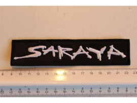 SARAYA - WHITE NAME LOGO