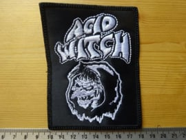 ACID WITCH - WHITE LOGO