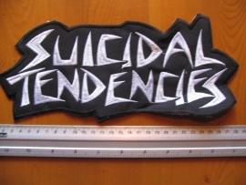 SUICIDAL TENDENCIES - WHITE LOGO