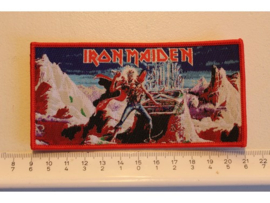 IRON MAIDEN - THE PANTHOM OF THE OPERA ( RED BORDER ) WOVEN
