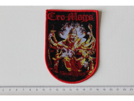 CRO-MAGS - BEST WISHES ( RED BORDER ) WOVEN