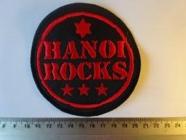 HANOI ROCKS - RED LOGO