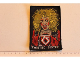 TWISTED SISTER - GOOD OLD DEE SNIDER ( BLACK BORDER ) WOVEN