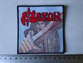 SAXON - SAXON ( WOVEN )