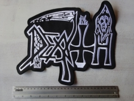 DEATH - WHITE LOGO ( OLD )