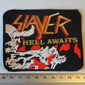 SLAYER - HELL AWAITS SQUARE
