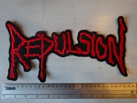 REPULSION - RED LOGO