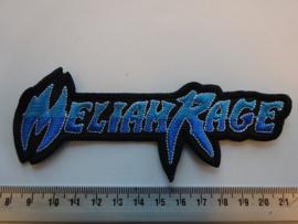 MELIAH RAGE - BLUE/WHITE NAME LOGO