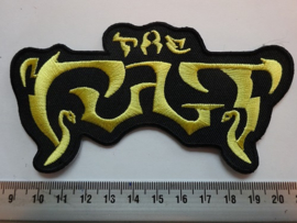 THE CULT - YELLOW NAME LOGO