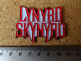 LYNYRD SKYNYRD - RED/WHTE NAME LOGO