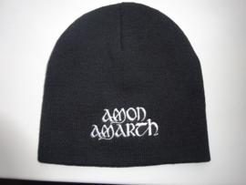 AMON AMARTH - WHITE NAME LOGO