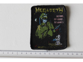 MEGADETH - SO FAR, SO GOOD , SO WHAT! ( ORIGINAL 1988 ) PRINT