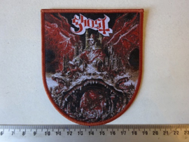 GHOST - PREQUELLE  ( BROWN BORDER ) WOVEN