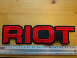 RIOT - ROCK CITY NAME LOGO
