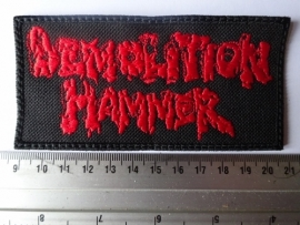 DEMOLITION HAMMER - RED LOGO