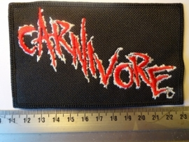 CARNIVORE - RED/WHITE LOGO