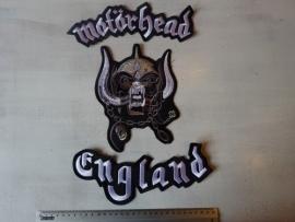 MOTORHEAD - ENGLAND ( 3 PIECE LOGO )