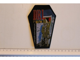 D.R.I. - DIRTY ROTTEN ( BLACK BORDER ) WOVEN