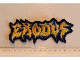 EXODUS - YELLOW/BLUE NAME LOGO