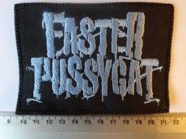 FASTER PUSSYCAT - BLUE LOGO