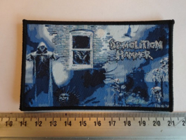 DEMOLITION HAMMER - EPIDEMIC OF VIOLENCE ( BLACK BORDER ) WOVEN