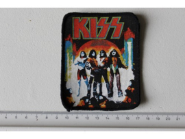 KISS - LOVE GUN ( ORIGINAL PRINTED PATCH ) LATE 70'S