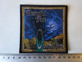 MERCYFUL FATE - IN THE SHADOWS ( BLACK  BORDER ) WOVEN