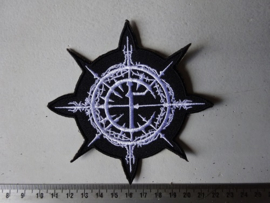 CARPATHIAN FOREST - CF LOGO ( SHAPED )