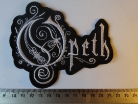 OPETH - WHITE LOGO ( SHAPED DIFFERENT )
