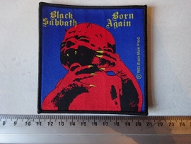 BLACK SABBATH - BORN AGAIN ( WOVEN )