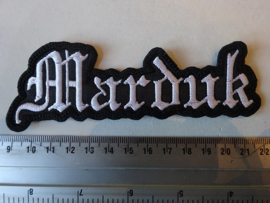 MARDUK - WHITE NAME LOGO ( DIFFERENT )
