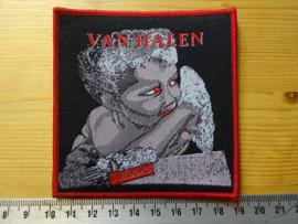 VAN HALEN - 1984 ( RED BORDER ) WOVEN