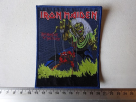IRON MAIDEN - NUMBER OF THE BEAST BLUE BORDER