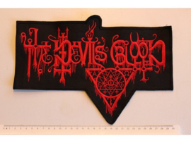 THE DEVILS BLOOD - RED NAME LOGO